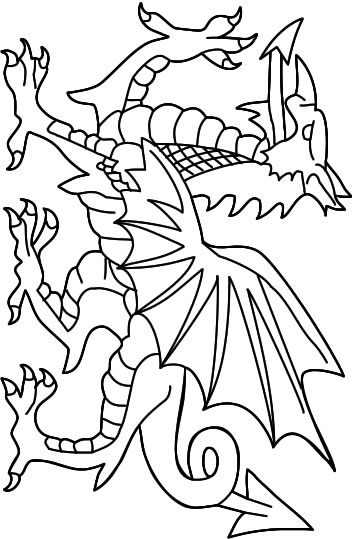 Coloriage lego coloriages dragon jeu pour fille - Modele dessin dragon ...