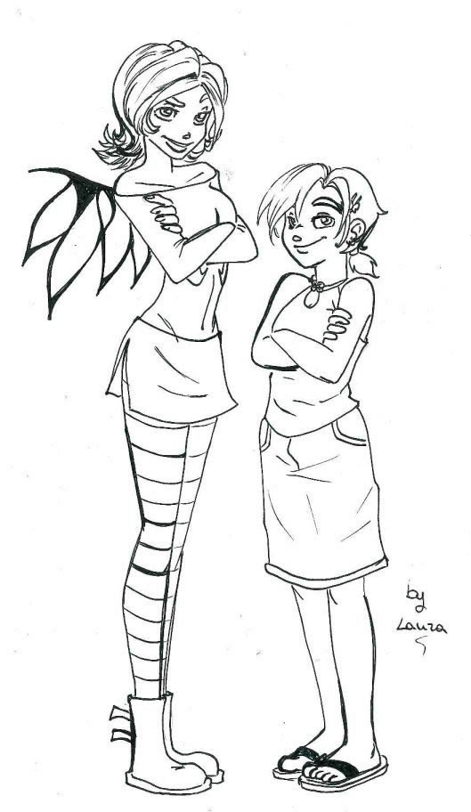 Coloriage ange coloriages witch jeu pour fille - Coloriage d ange ...